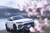 Luxury SUV rental in the Alps