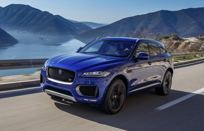 quality products catch new arrival Jaguar F-Pace -Luxury & Services Rent