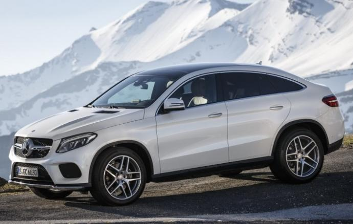 Luxury SUV rental   Mercedes GLE coupé   Luxury & Services